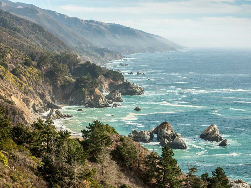 Coastal Highway 1, California, USA