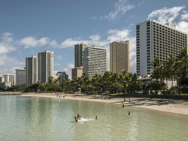 Waikiki, Hawaii, USA